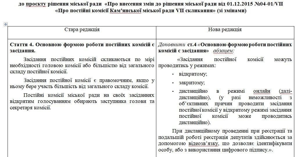 Депутаты Каменского смогут встречаться онлайн, фото-1