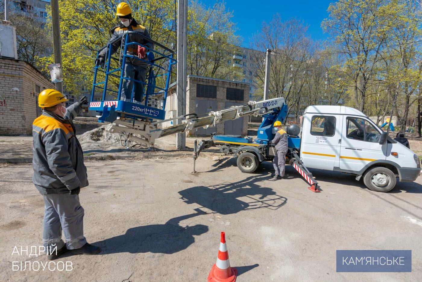 Каменчанам Соцгорода и БАМа модернизируют электрические сети, фото-6