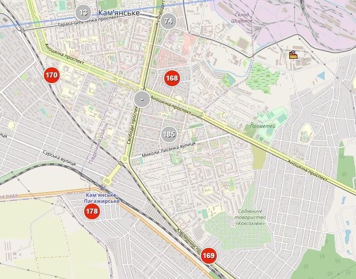 В Каменском зафиксировано аномальное загрязнение воздуха (обновлено), фото-1