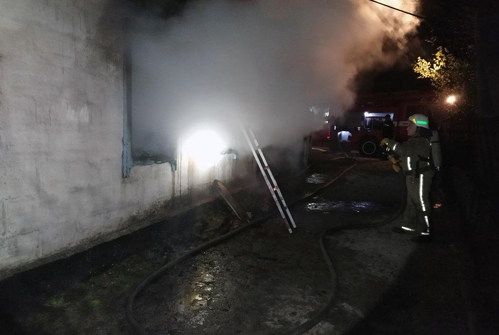 В Куриловке горел жилой дом: пострадал пожилой мужчина, фото-1