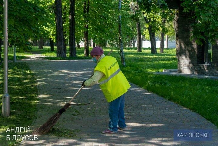 Мэр Каменского объехал скверы, парки и места общего пользования, фото-4