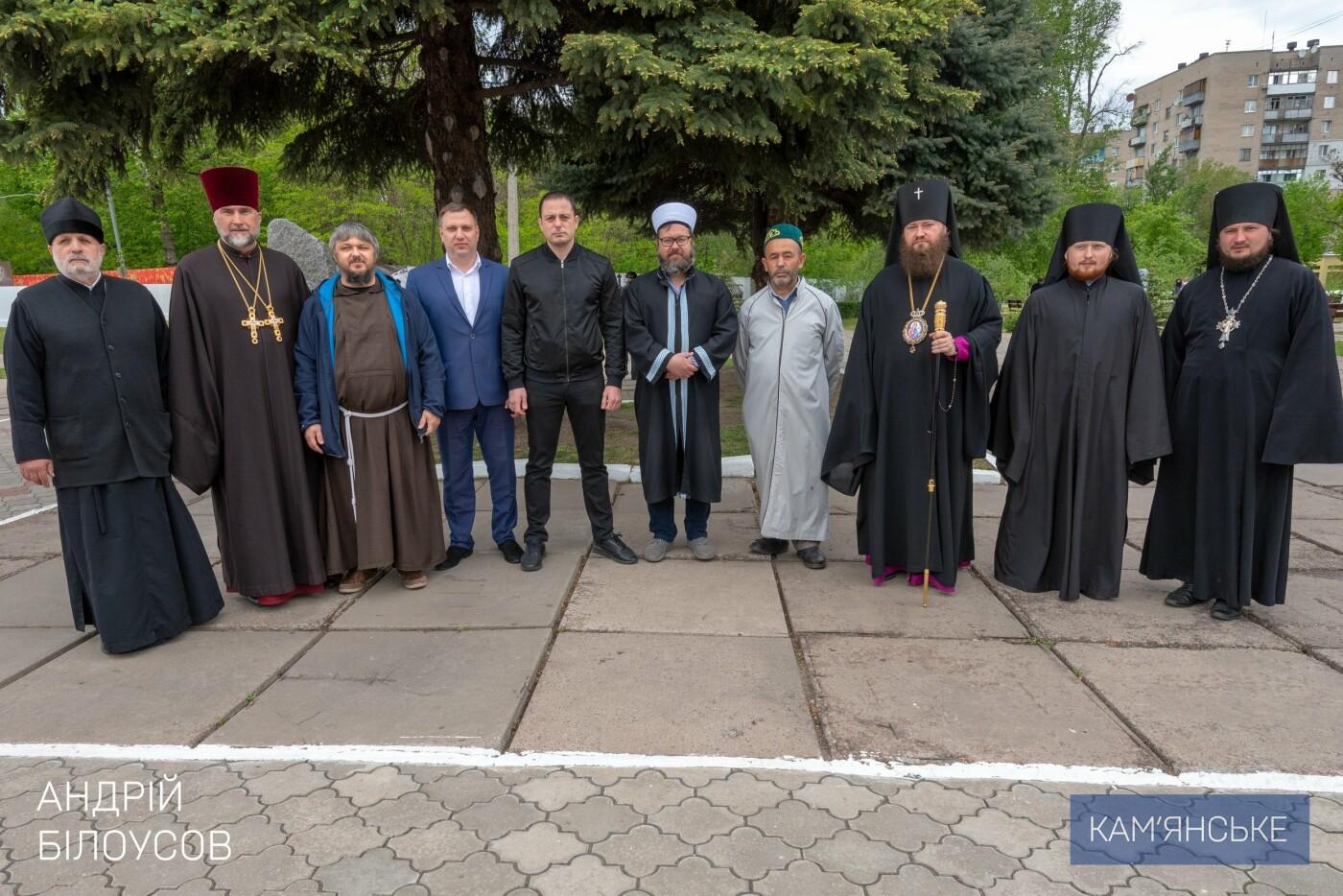 К 75-летию Победы в Каменском открыли два новых памятника, фото-5