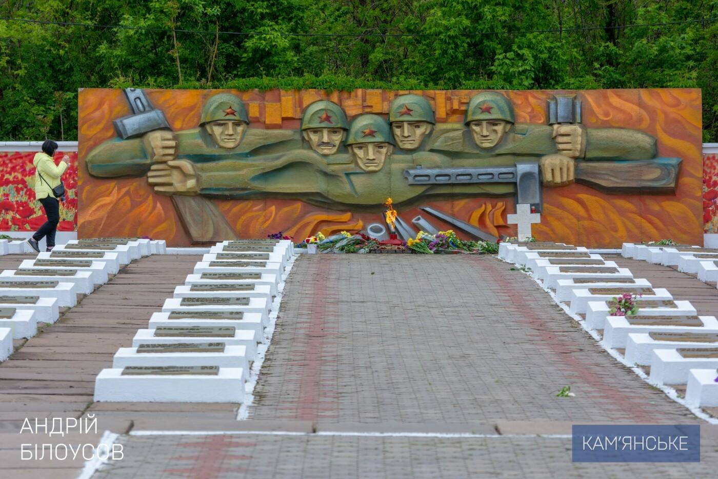 К 75-летию Победы в Каменском открыли два новых памятника, фото-2