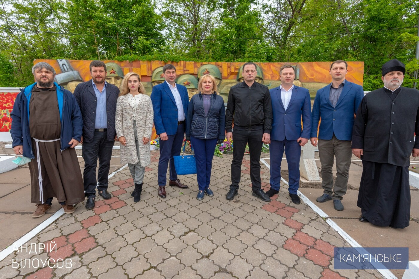 К 75-летию Победы в Каменском открыли два новых памятника, фото-6