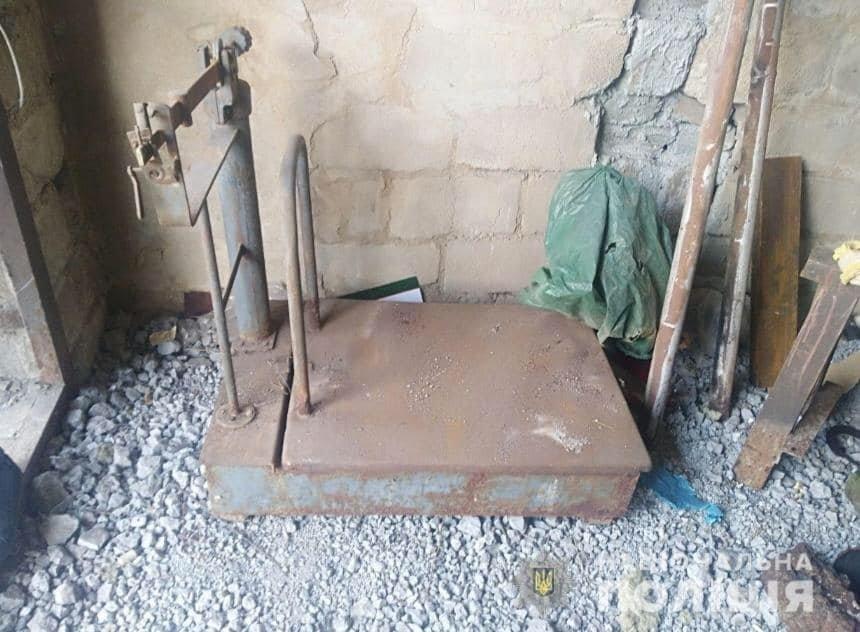 В Каменском нашли незаконную металлоприемку , фото-1