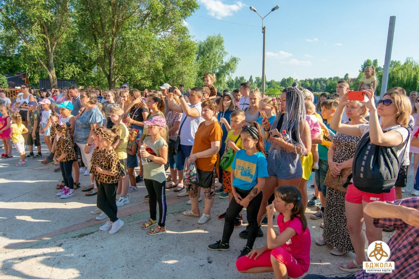 Партія «Бджола» організувала святковий захід до Дня молоді, фото-6