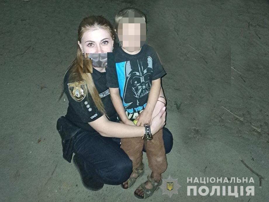 В Каменском вечером дети сбежали с детской площадки, фото-1