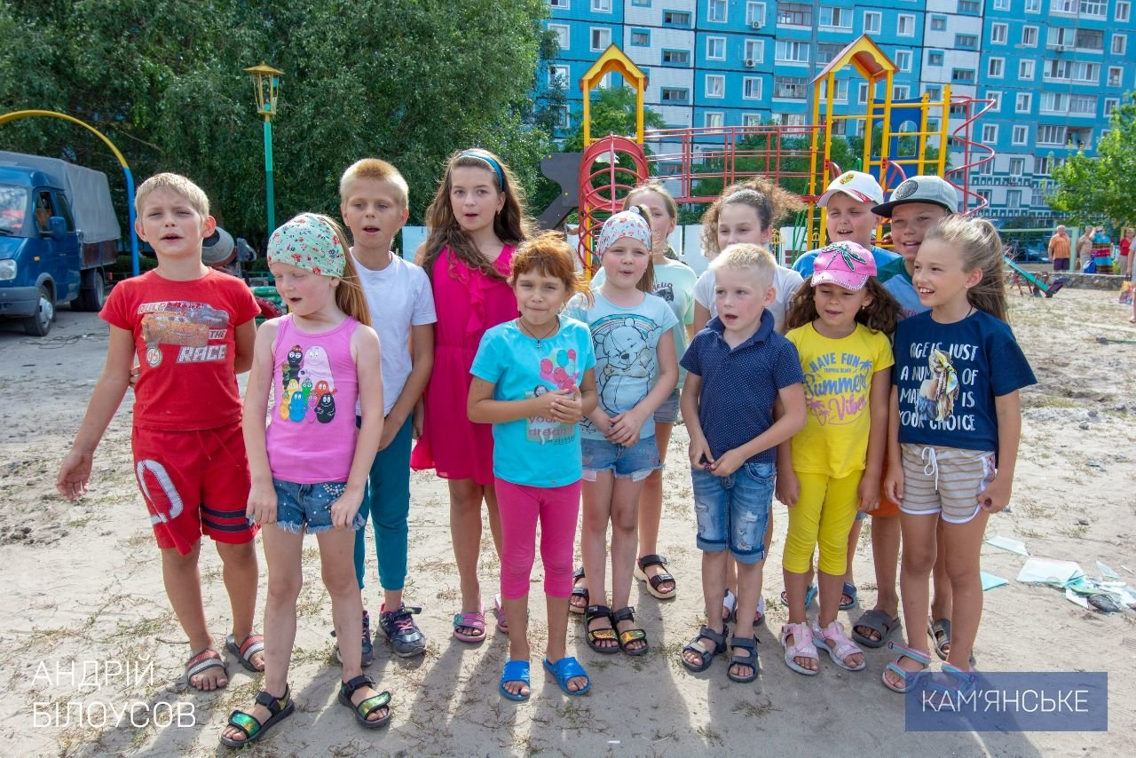 В Каменском устанавливают детские и спортивные площадки во дворах, фото-1
