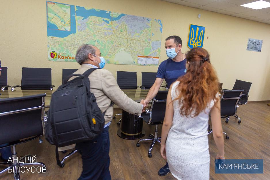 Мэр Каменского провел встречу с техническими консультантами ЕИБ, фото-2