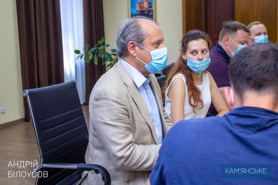 Мэр Каменского провел встречу с техническими консультантами ЕИБ, фото-1