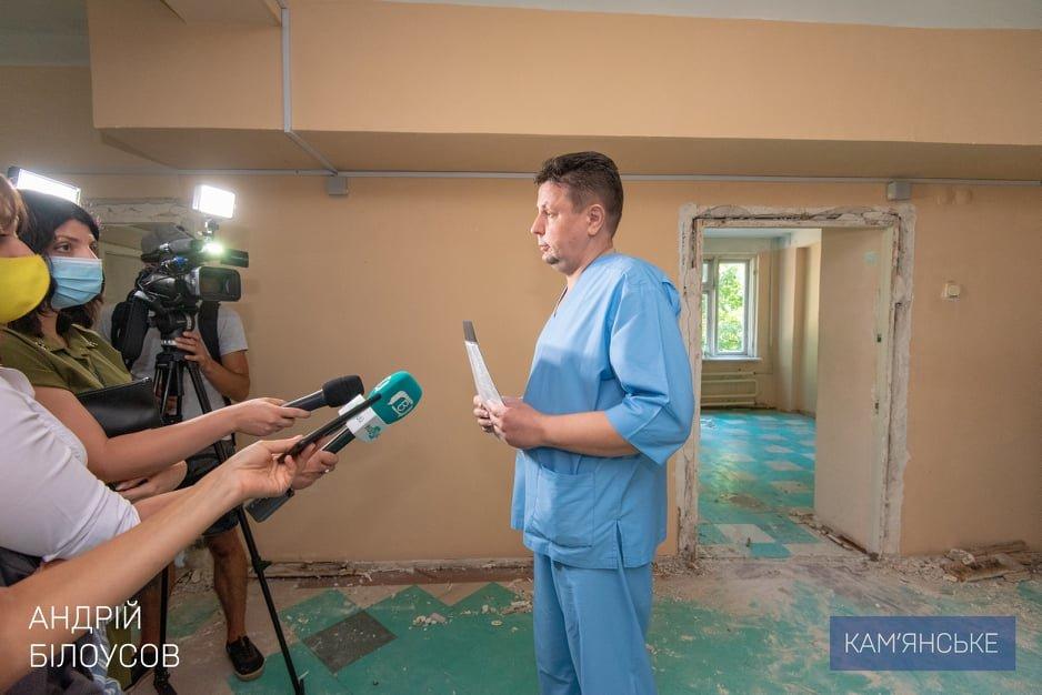 Комфортные условия для врачей и пациентов: в больницах Каменского продолжаются капитальные ремонты, фото-2