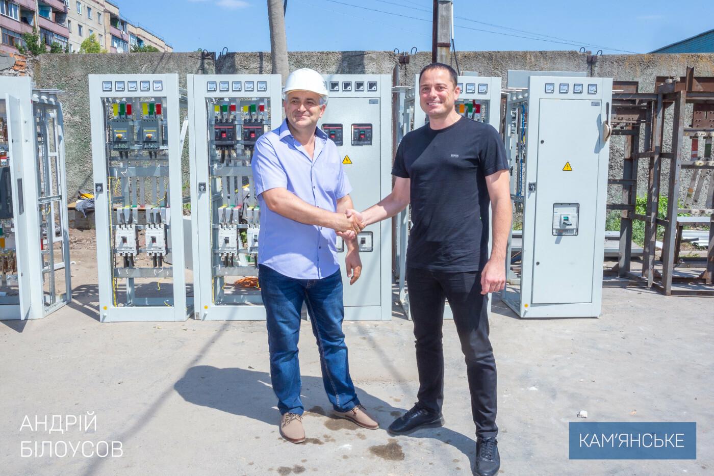 В Каменском завершаются работы по переводу жителей Соцгорода и «БАМа» на электроотопление, фото-1