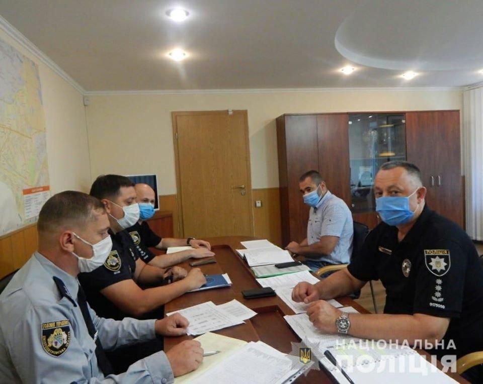 В Каменское приезжал начальник полиции области, фото-1