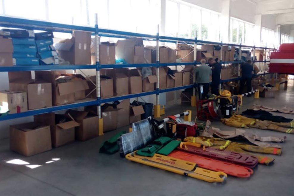 Спасатели Днепропетровщины получили благотворительную помощь из Канады, фото-1