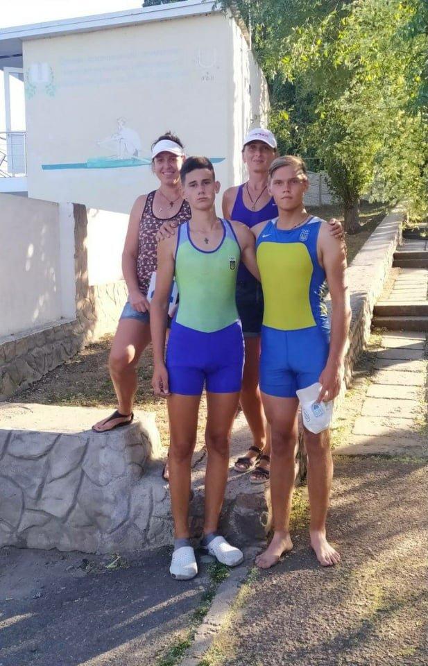Каменчане стали победителями чемпионата Украины по гребле академической, фото-1