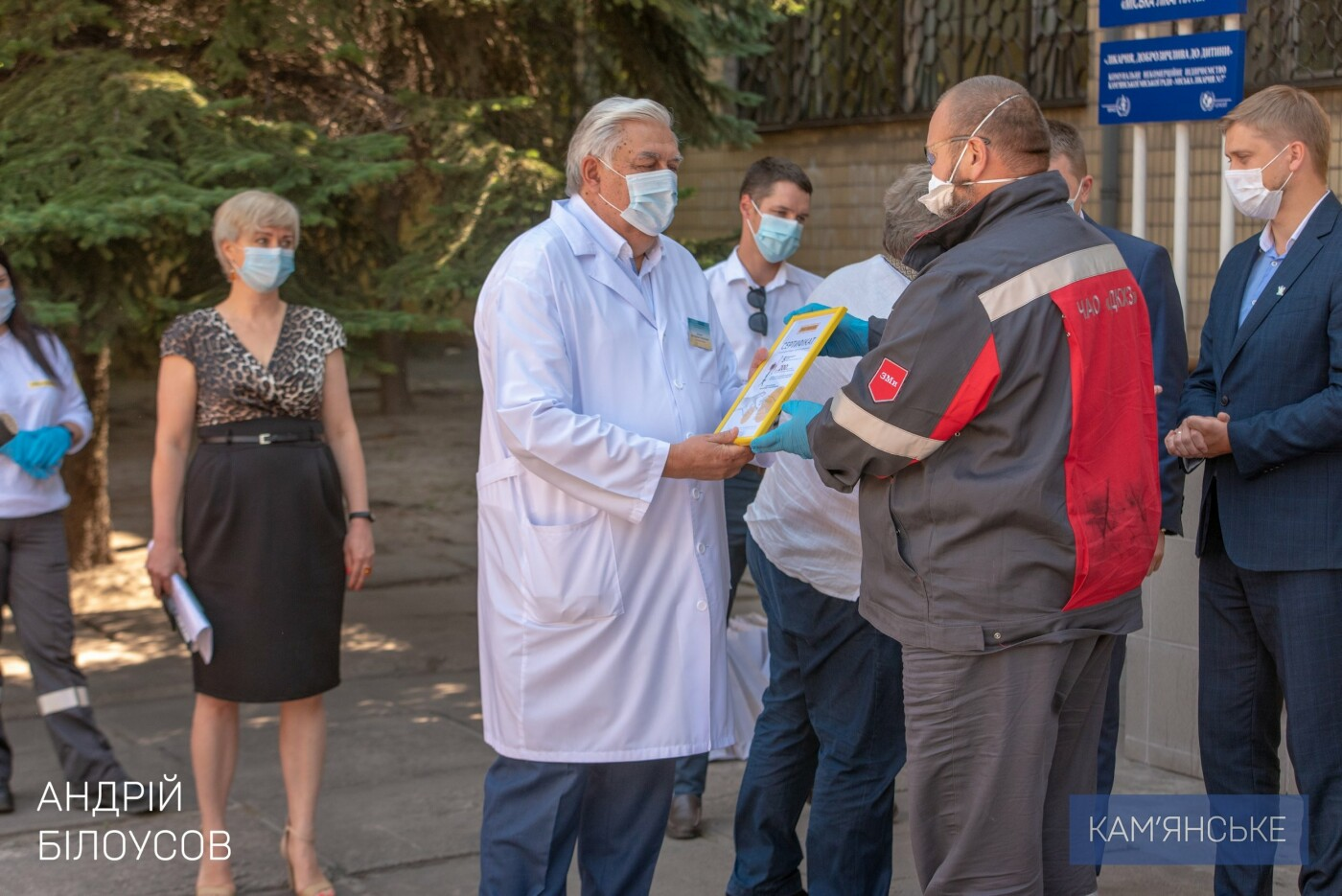 Кам'янська міська лікарня №7 отримала 6 апаратів ШВЛ, фото-2