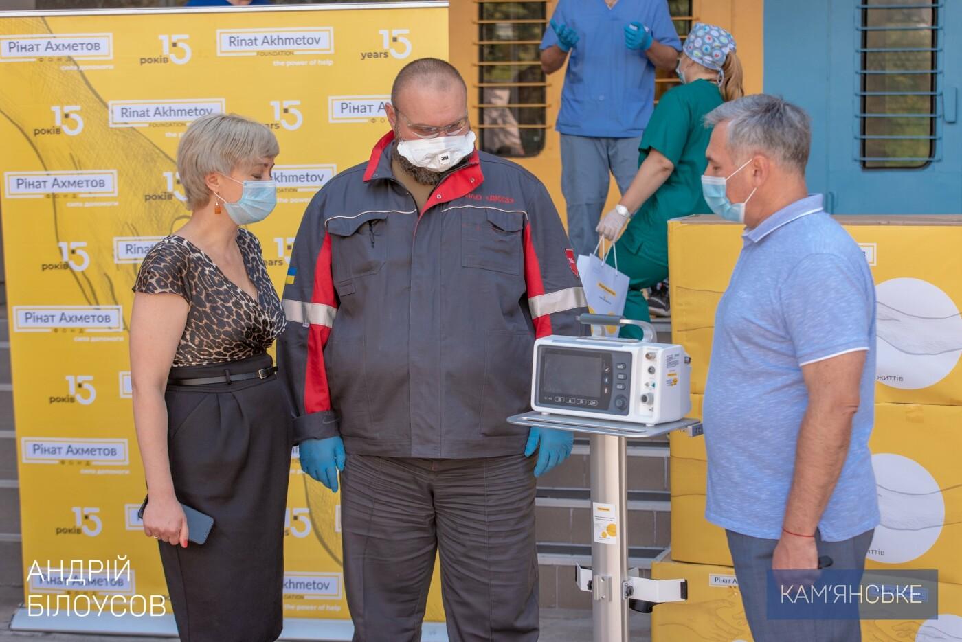 Кам'янська міська лікарня №7 отримала 6 апаратів ШВЛ, фото-3