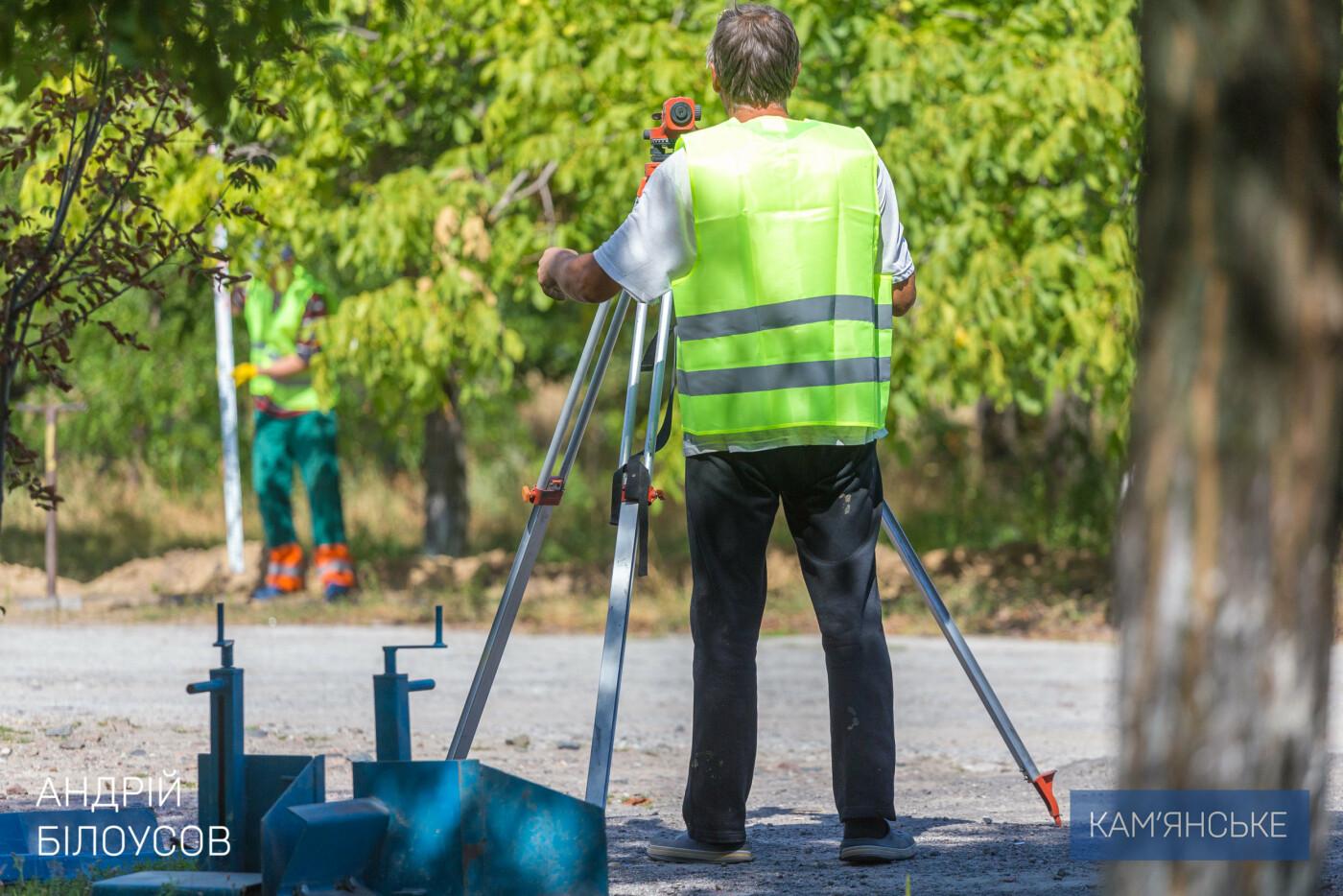Новые аттракционы, тротуарная плитка и площадки: в Левобережном парке Каменского началась реконструкция, фото-2