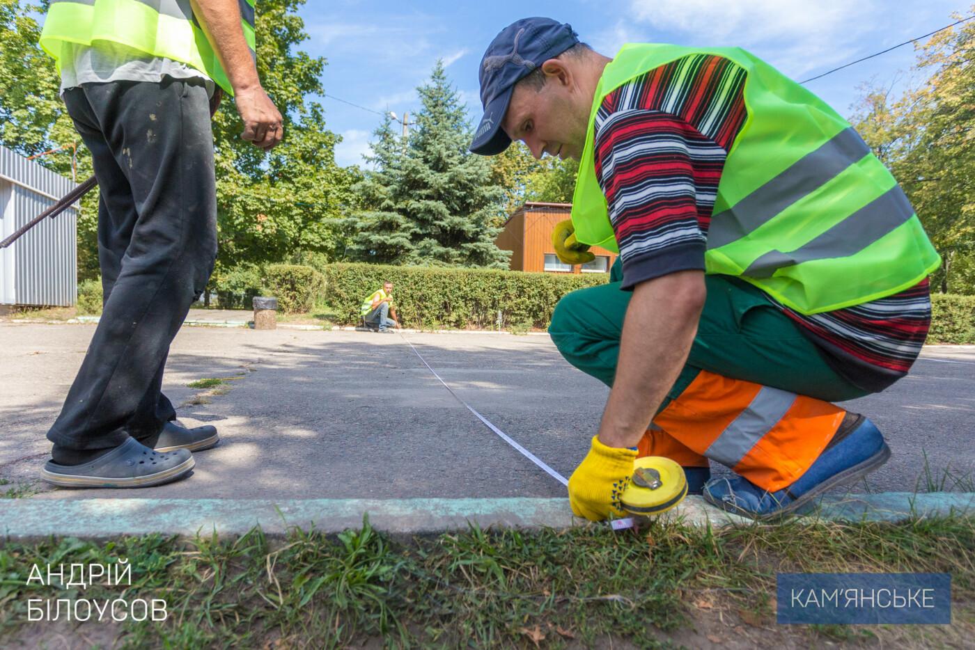 Новые аттракционы, тротуарная плитка и площадки: в Левобережном парке Каменского началась реконструкция, фото-3