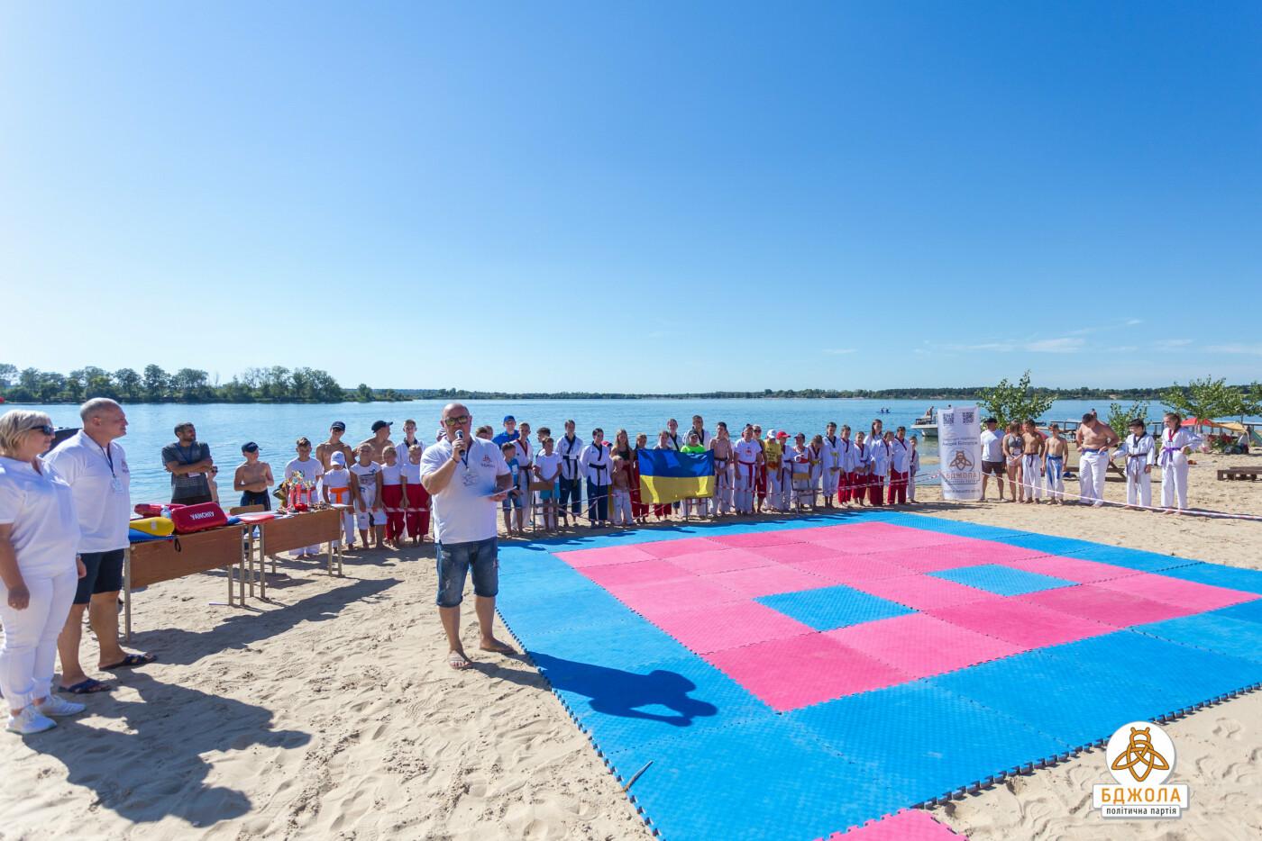 У Кам'янському пройшов відкритий чемпіонат ДЮСШ №1 з пляжного тхеквондо, фото-4