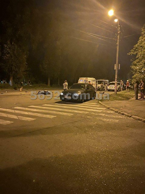 В Каменском мотоциклист пытался скрыться от полицейских и попал в ДТП: один погиб, фото-2