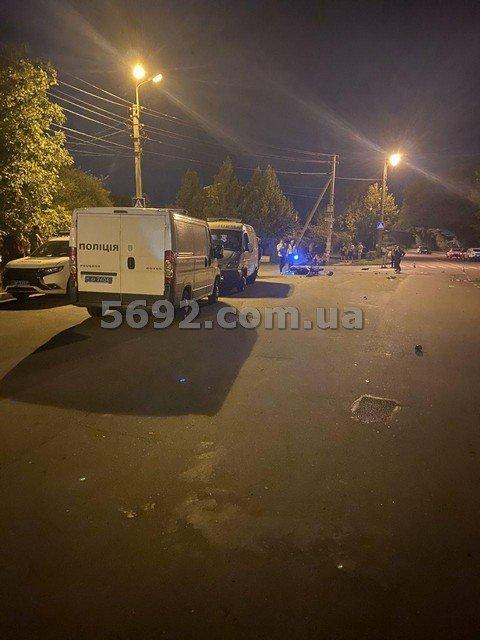 В Каменском мотоциклист пытался скрыться от полицейских и попал в ДТП: один погиб, фото-3