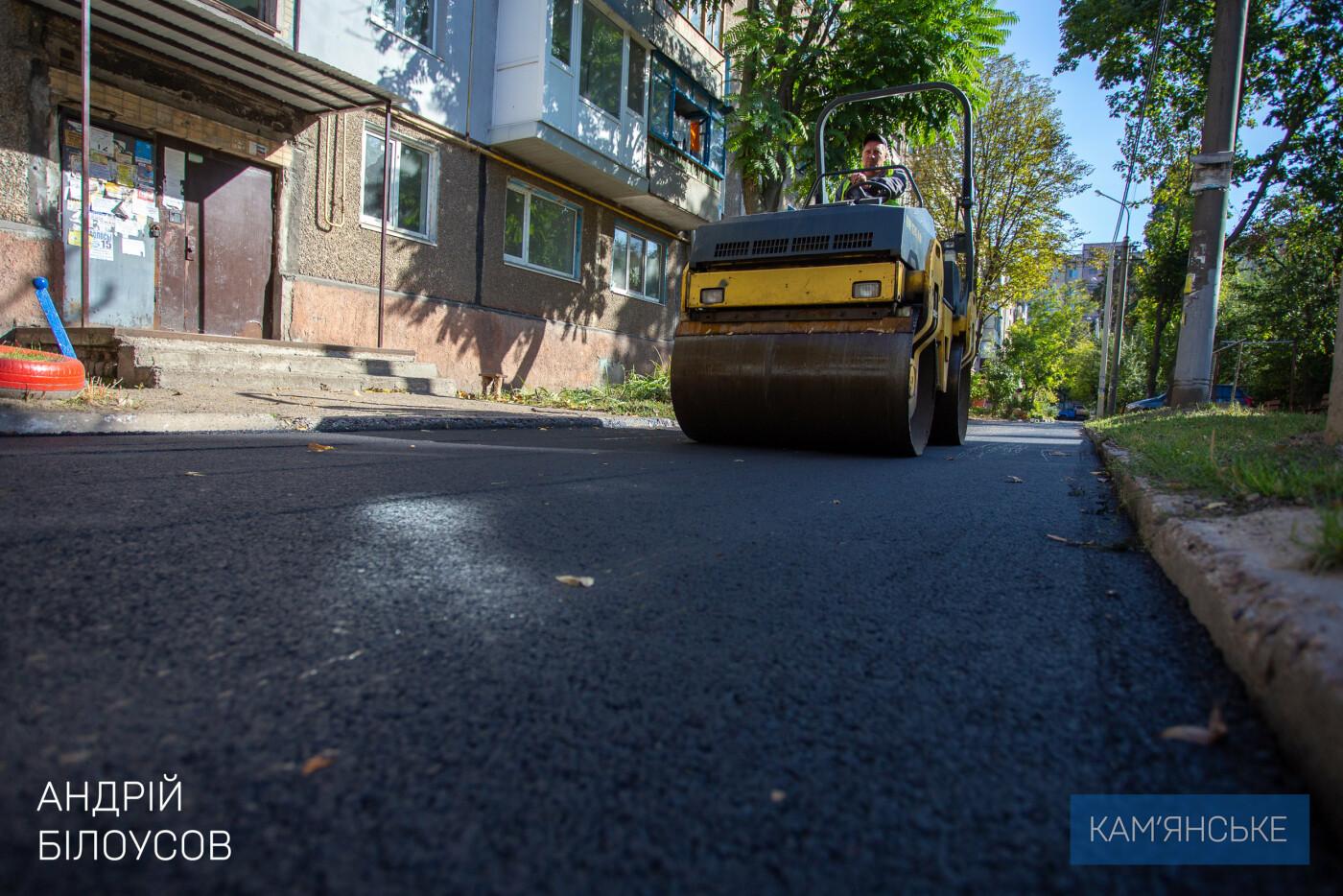 В Каменском ремонтируют внутриквартальные дороги, фото-4