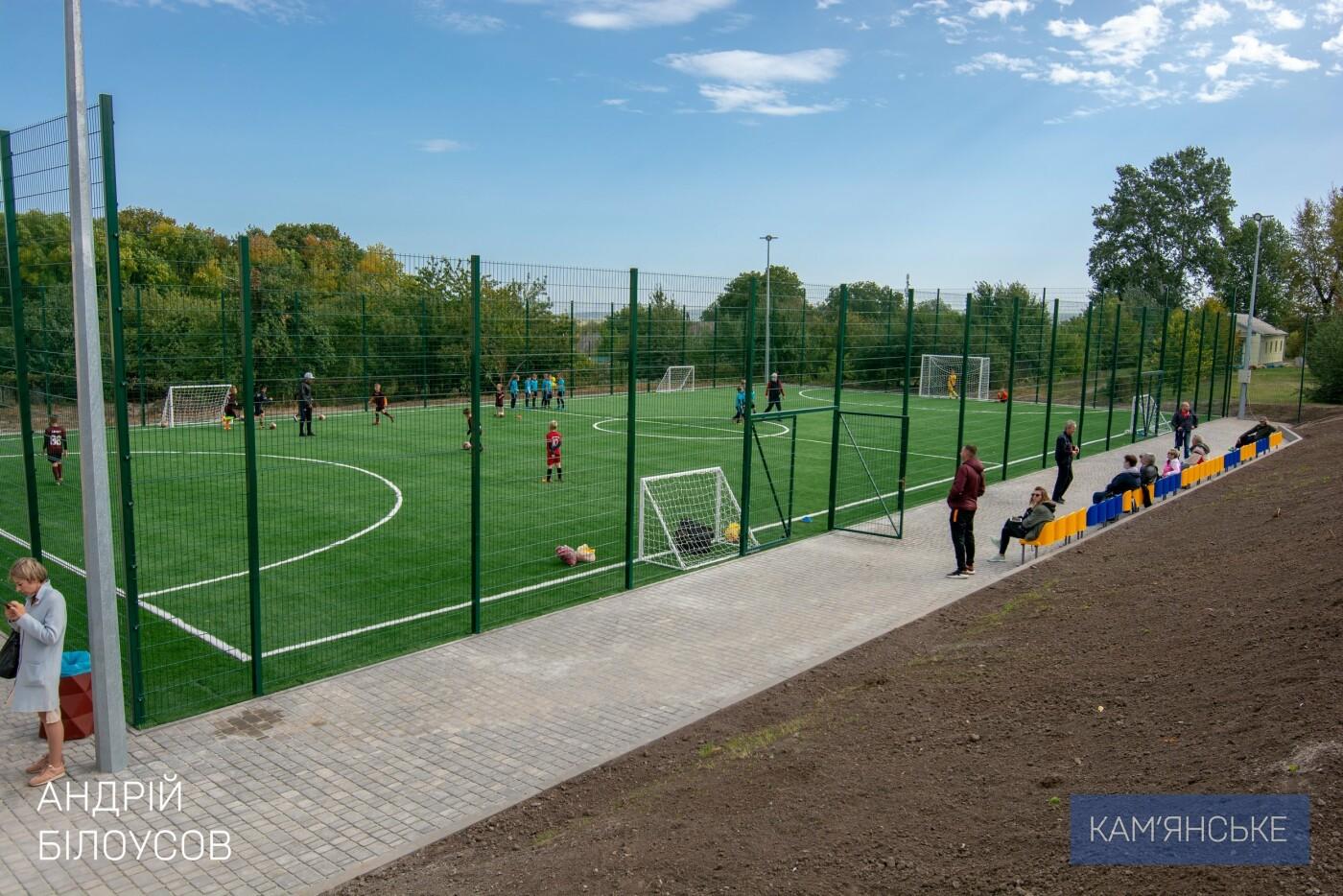 В Карнауховке открыли многофункциональный спортивный комплекс, фото-1