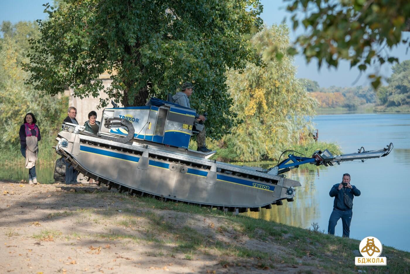 У Карнаухівці чистять річку Дніпро, фото-1