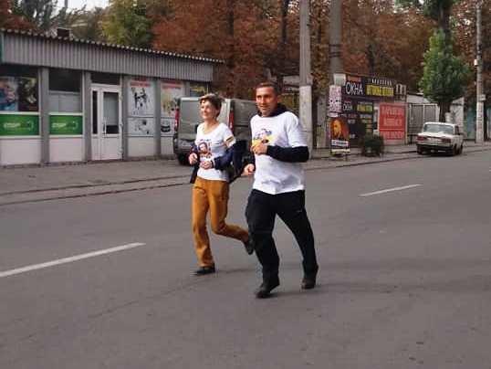 """В Каменском состоялся """"Забег памяти"""", фото-1"""