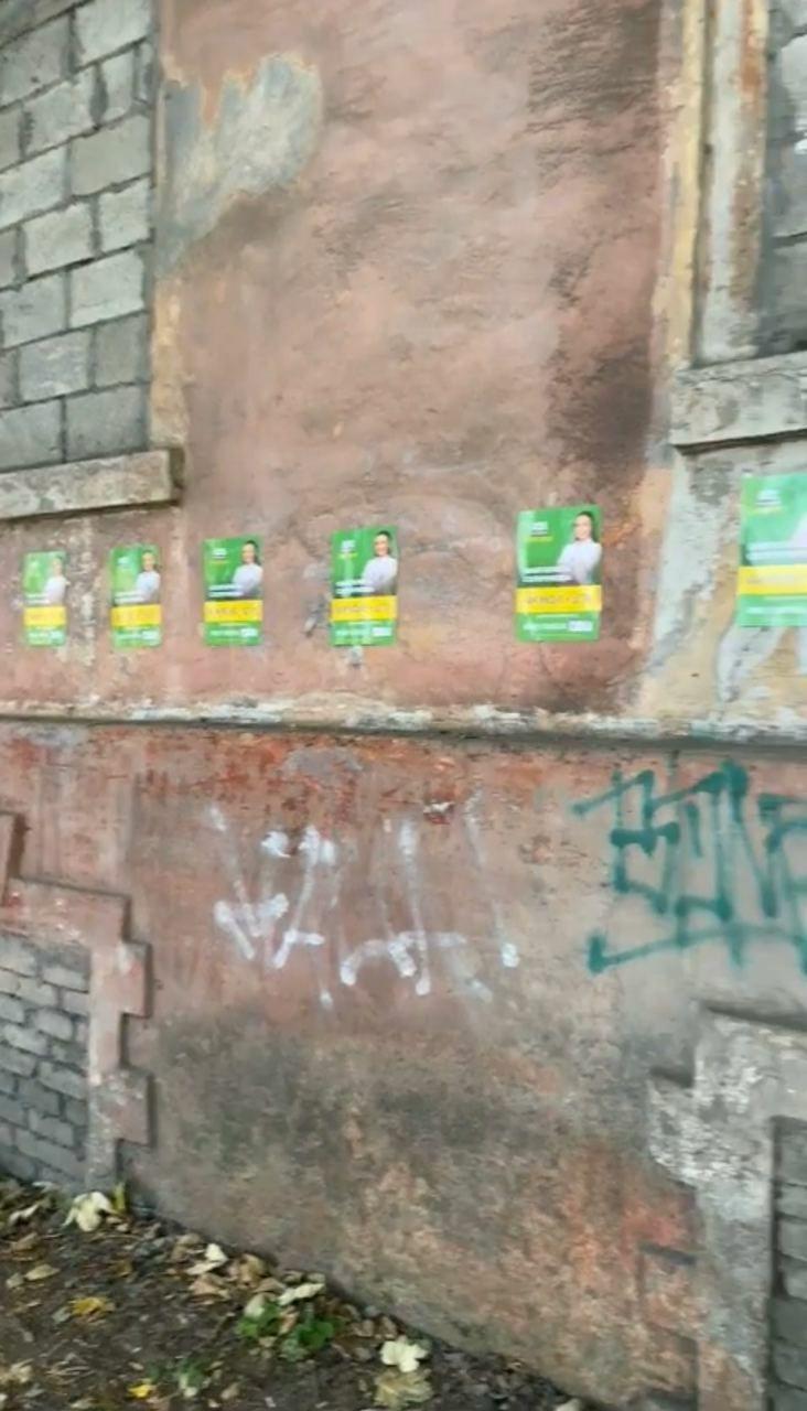 В Каменском будут штрафовать самых рьяных расклейщиков политрекламы, фото-2
