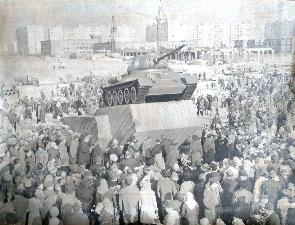 """Как в Днепродзержинске открывали памятник """"Танк"""", фото-1"""