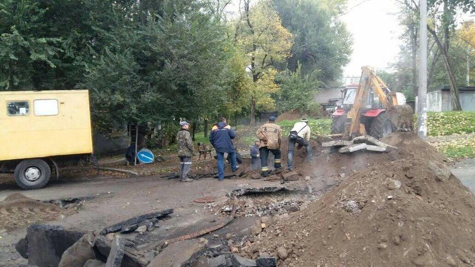 В Каменском опять перекрыли улицу Медицинскую, фото-1