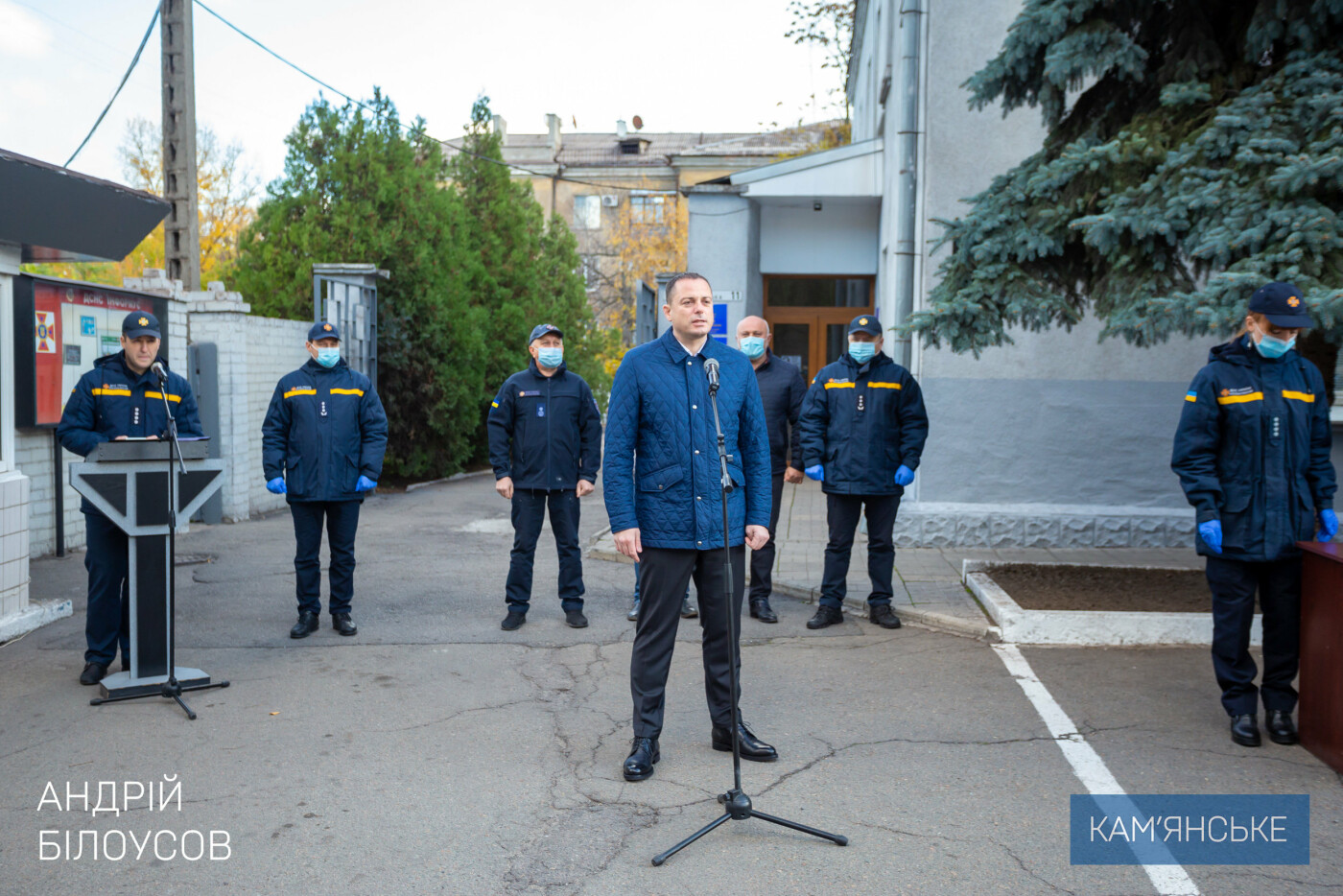 Спасателей Каменского наградили за тушение пожара в Луганской области, фото-2
