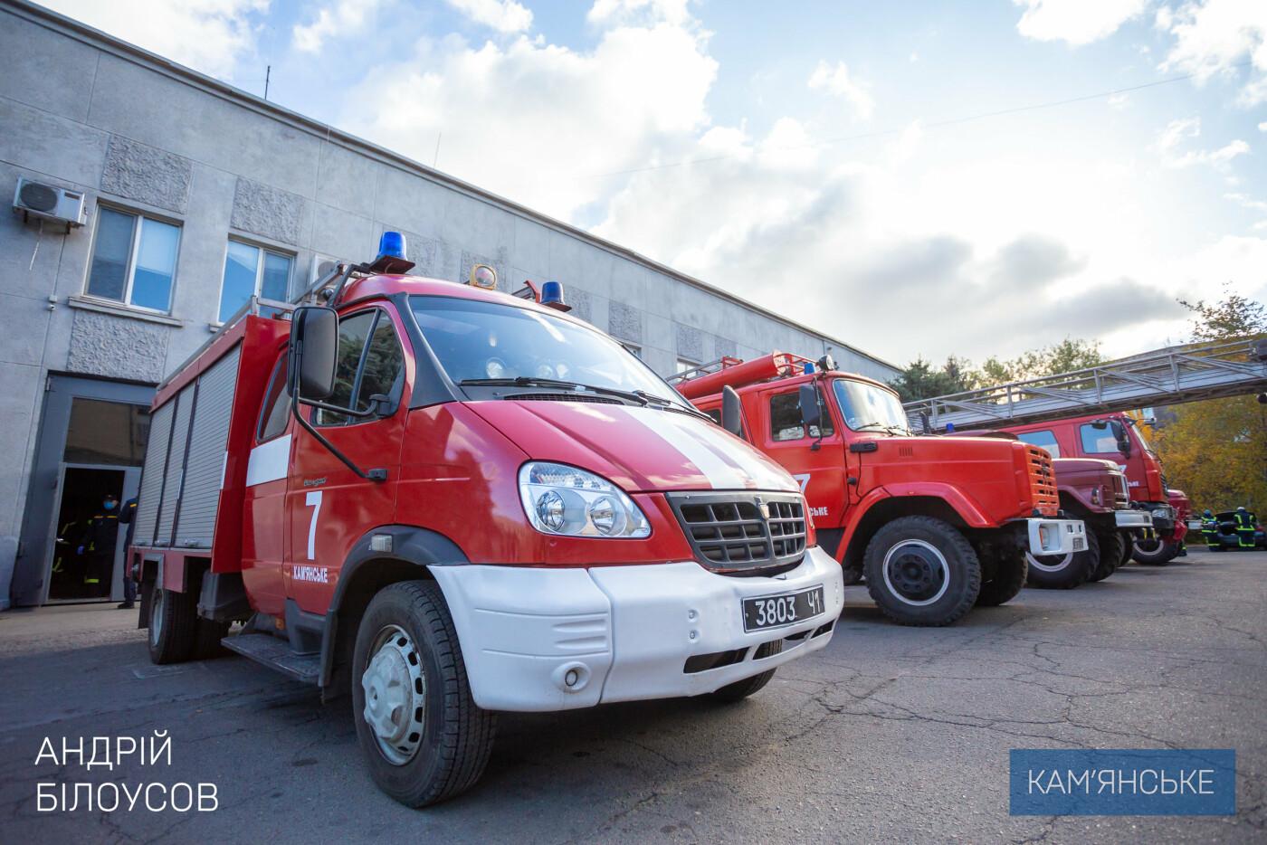 Спасателей Каменского наградили за тушение пожара в Луганской области, фото-4