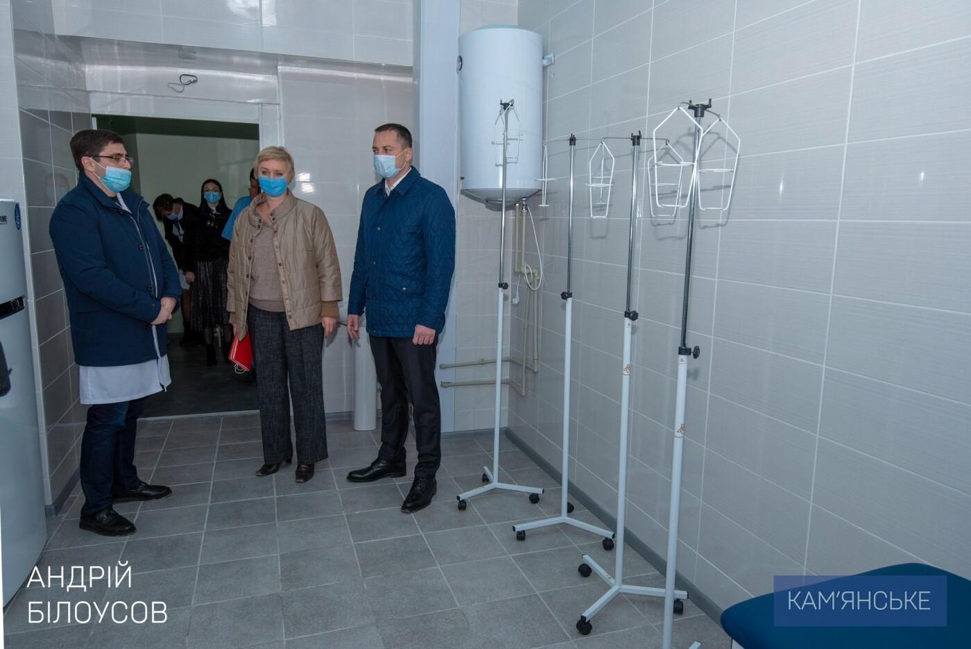 За полтора года в больницах Каменского капитально отремонтировали 9 лечебных отделений, фото-2
