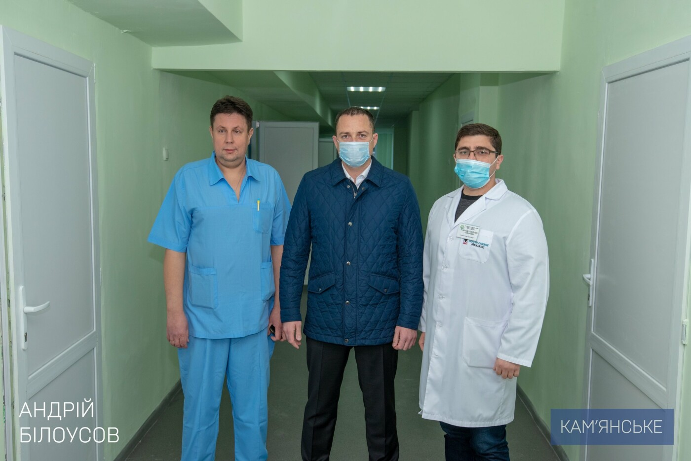 За полтора года в больницах Каменского капитально отремонтировали 9 лечебных отделений, фото-4