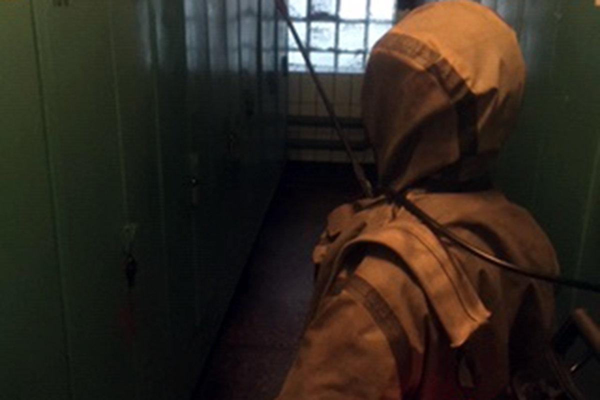 В Каменском сотрудники ГСЧС проводили дезинфекцию промышленных предприятий, фото-1