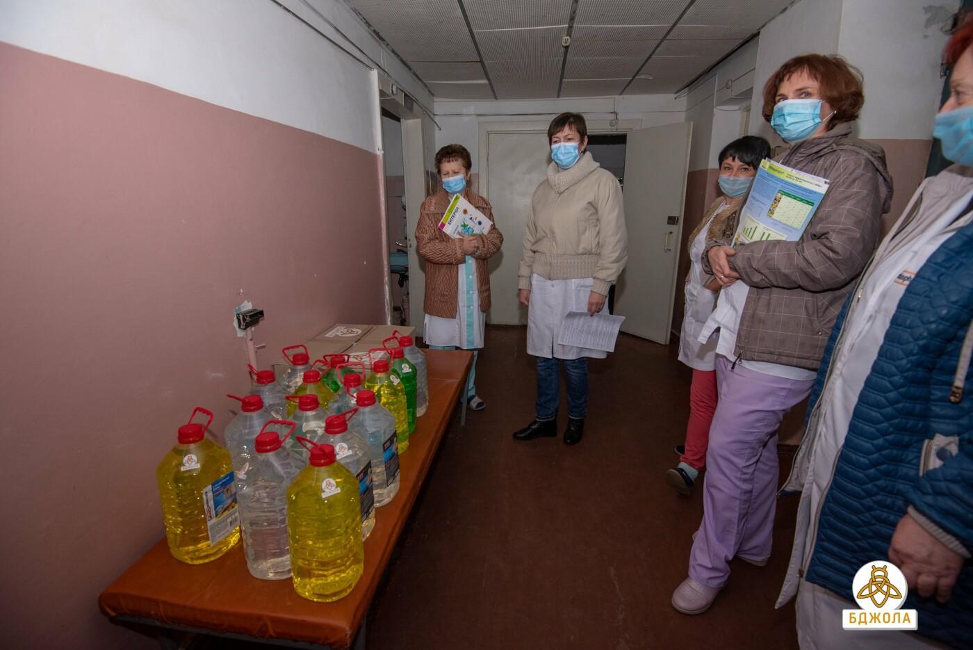 ГО «Бджола» допомагає лікарням Кам'янського, фото-1