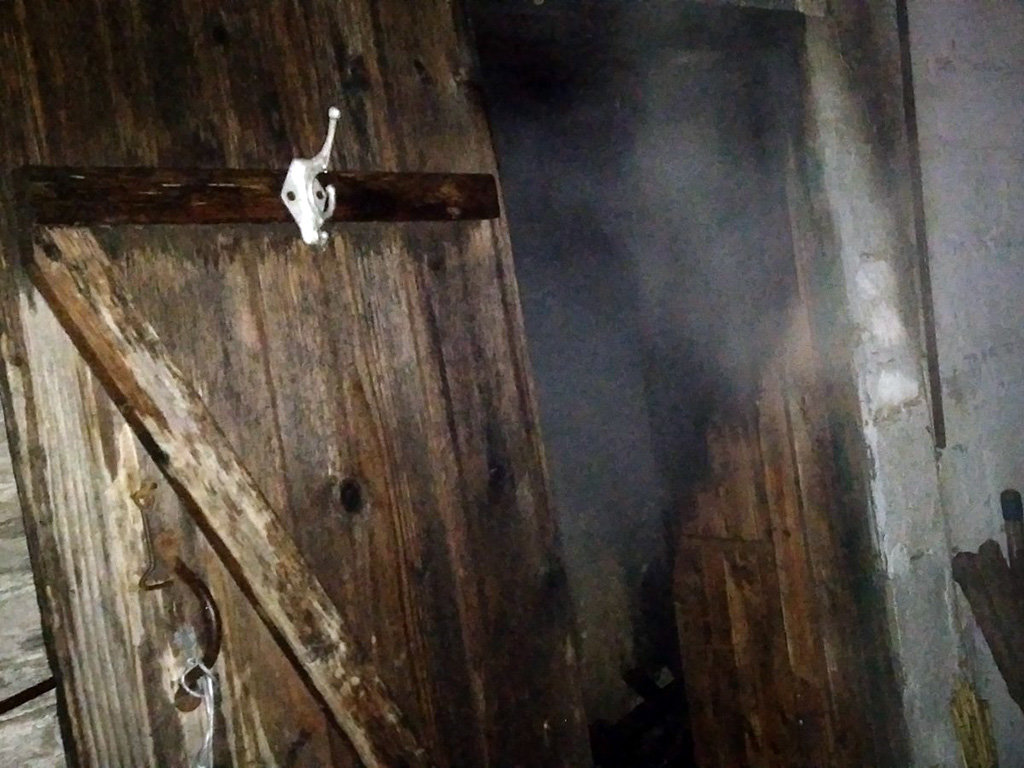 В Криничках горела баня, фото-1