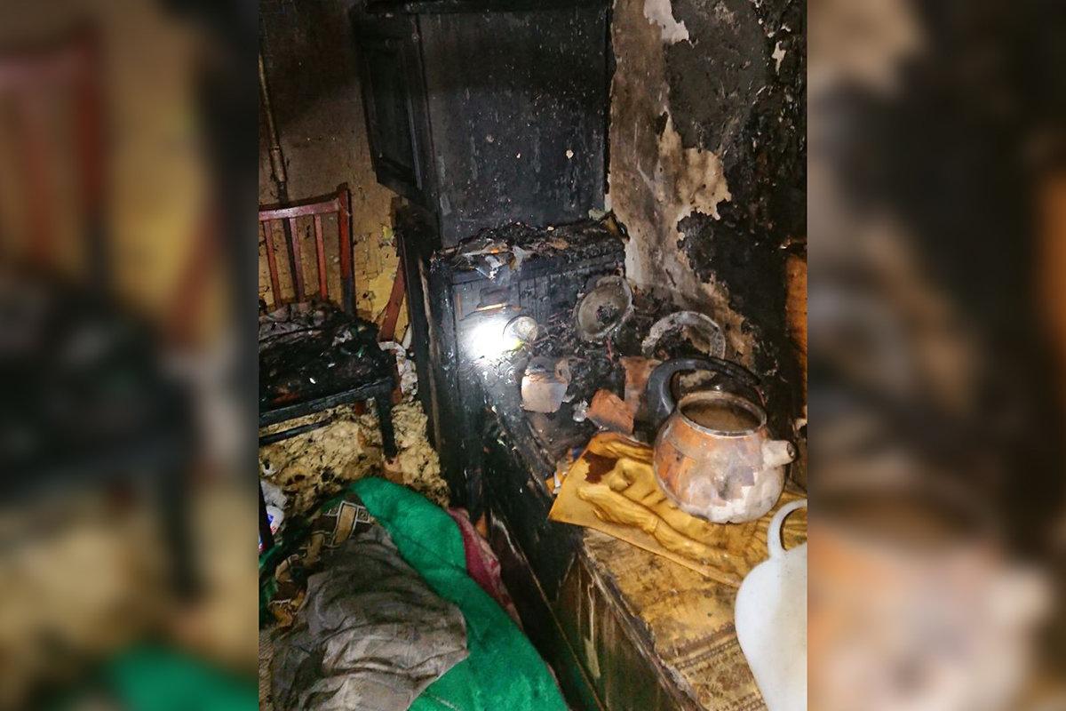В Каменском на Михаила Грушевского горела квартира: пострадал мужчина, фото-1