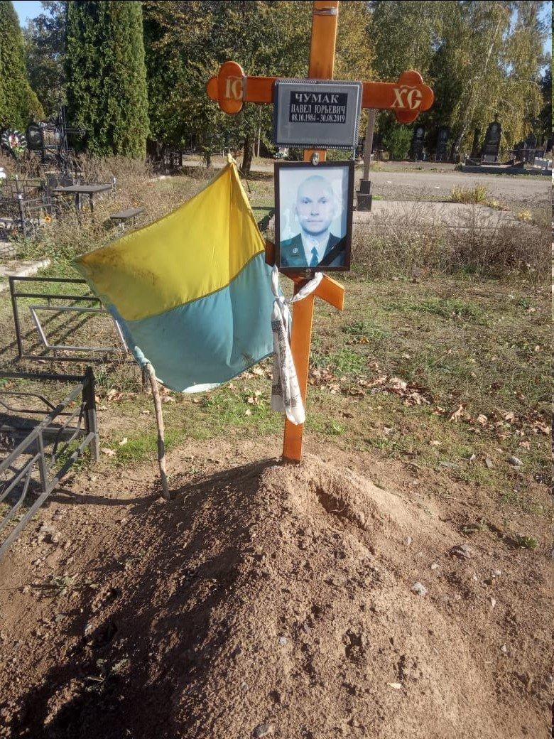 В Днепропетровской области погибшему в АТО не могут поставить памятник, фото-1