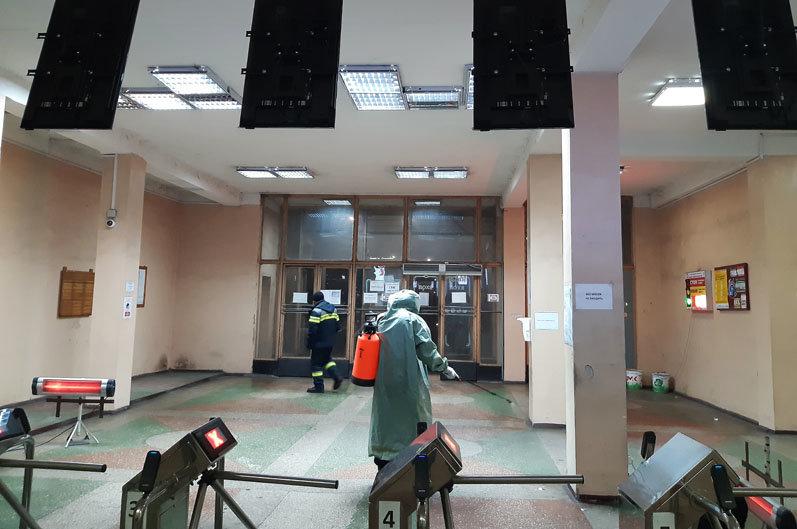 В Каменском спасатели провели санобработку предприятий , фото-1