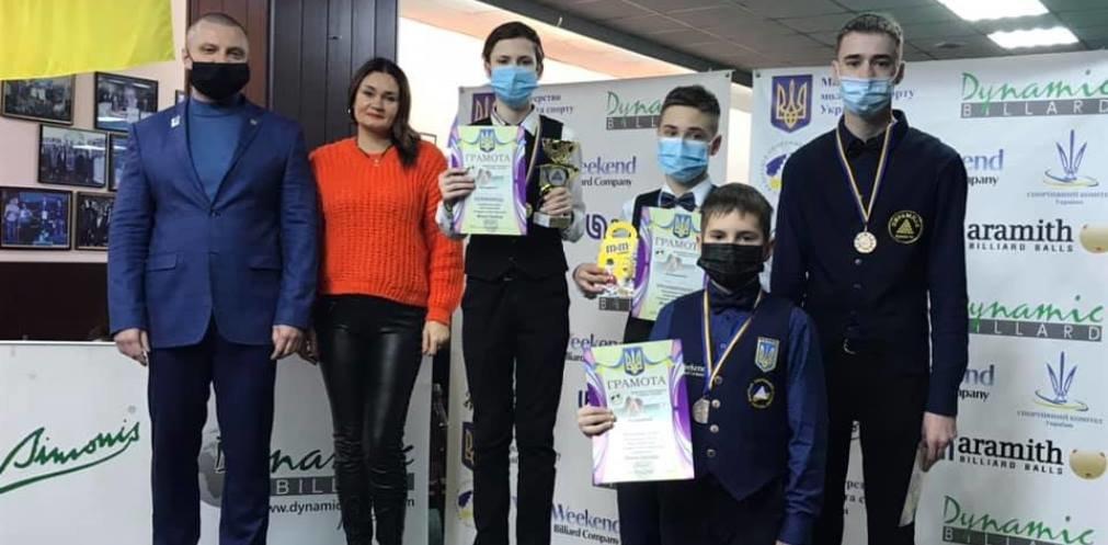 Бильярдисты Днепропетровщины завоевали 4 медали на Кубке Украины, фото-1