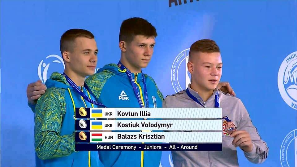 Гимнаст из Днепропетровщины стал призером на чемпионате Европы, фото-1
