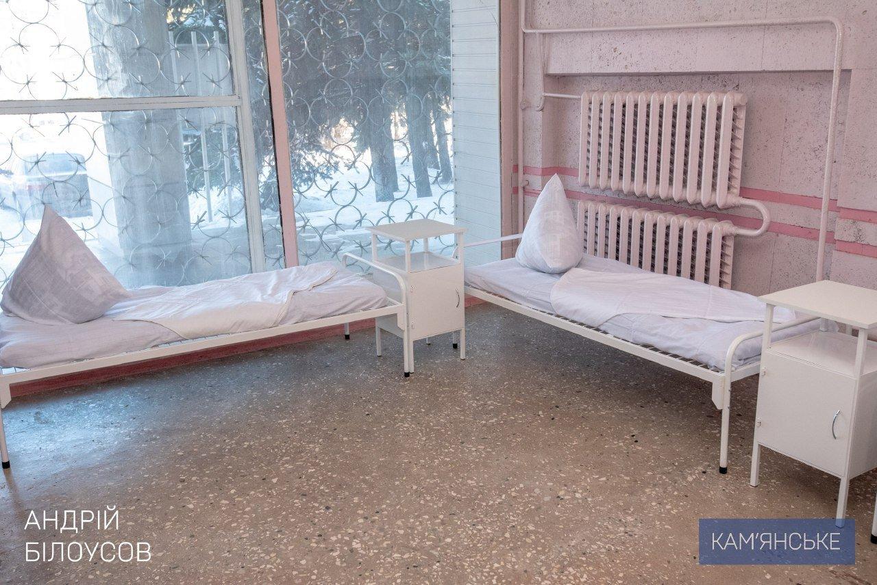 В Каменскую больницу № 7 доставили новую мебель, фото-1