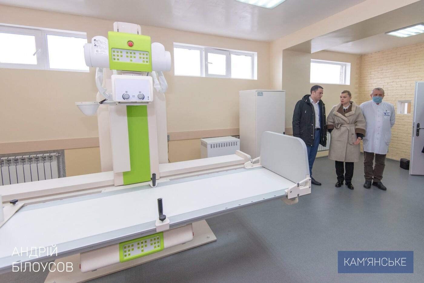 В больнице Каменского открыли новый рентген кабинет с современным оборудованием, фото-2