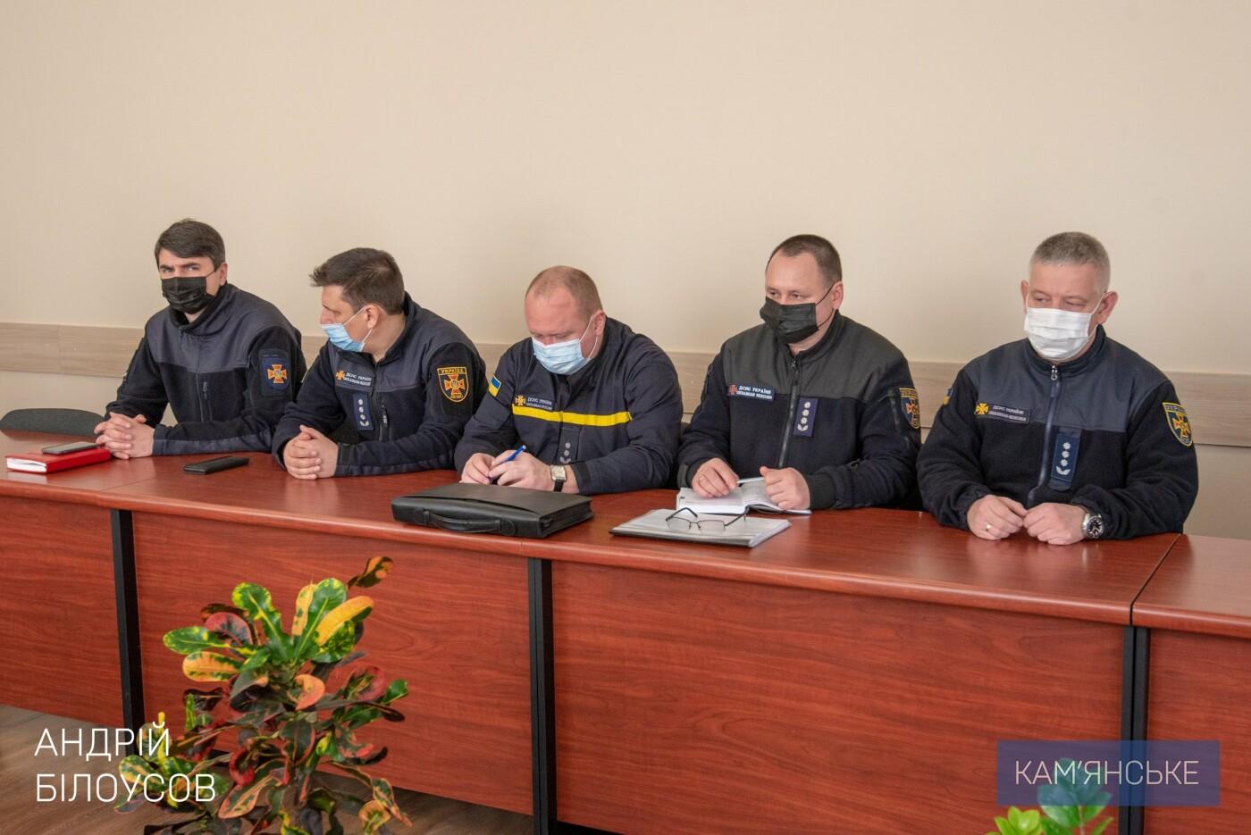 В Каменском стартовала контрольная проверка деятельности аварийно-спасательных служб, фото-2