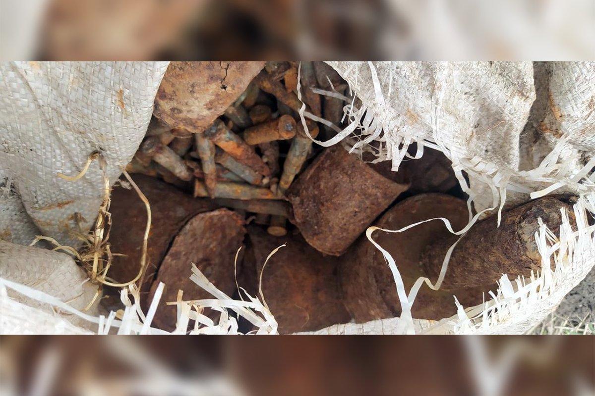 На Днепропетровщине снова уничтожали боеприпасы времен войны, фото-1