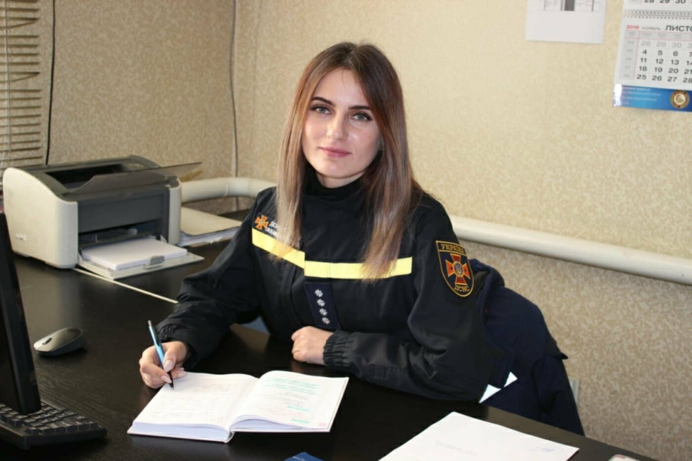 Жіноче обличчя Служби порятунку «101» Кам'янського, фото-3